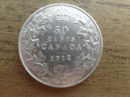 Canada  50  Cents  1912 Km 25  Ttb - Canada