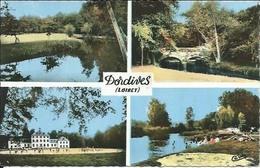D 45 - DORDIVES - Multivues - CPSM Couleur Signée Cim - Voyagée 1969 - Dordives