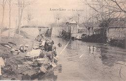 CPA LURCY-LEVY (03) LE LAVOIR - ANIMEE - France