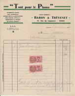 TOURS, Indre Et Loire - Tout Pour Le Phono - Baron & Thévenet 1937 - France
