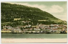 GIBRALTAR : SOUTH FROM THE NEW MOLE - Gibraltar