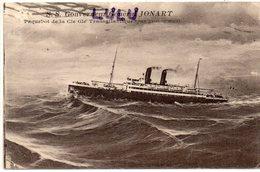 TRANSPORTS 370 : Le Paquebot S S Gouverneur Général Jonart ( Jonnart )par Grosse Mer - Steamers