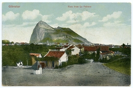 GIBRALTAR : ROCK FROM LA PEDRERA - Gibraltar