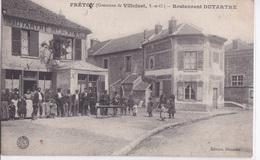 VILLEJUST - Frétoy - Restaurant Dutartre - Francia