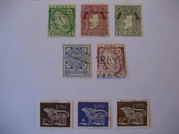 Irland/ Ireland- Freimarken Mit Nationalen Symbolen Aus Satz Mi. 40-51 - 1922 Governo Provvisorio