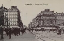 CPA - Belgique - Brussels - Bruxelles - Boulevard Anspach - Monuments, édifices