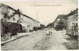 BARGES. RUE DU CHENE - Autres Communes