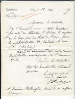 L. DUHAMEL ( Chef De Cabinet Du Président De La République Jules Grévy ) à Waddington ( Loge à L'Opéra - Don Juan ) - Autogramme & Autographen