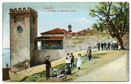 GIBRALTAR : ENTRANCE TO MOORISH CASTLE - Gibraltar