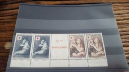 LOT 459805 TIMBRE DE FRANCE NEUF** LUXE N°1006/1007 - France