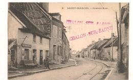 Saint Marcel - Grande Rue -   CPA° - Autres Communes