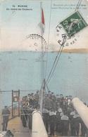 Toulon (83) - Marine - On Rentre Les Couleurs - Document Pris à Bord De L' Iéna Avant L'explosion 1907 - Marins - Toulon