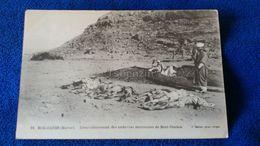 Bou-Denib Ensevelissement Des Cadavres Marocains De Beni-Ouzien Morocco - Marocco