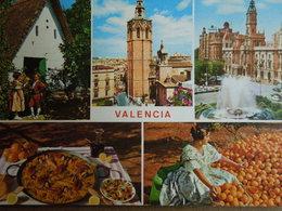 Valencia.   Valence.   Multivistas.   Multivues.   1972 - Spain