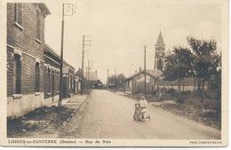 80 - Lihons -en-Santerre : Rue Du Bois . - Other Municipalities