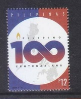 Filippine Philippines Philippinen Pilipinas 2019 Centenarians Logo 12p. From Sheet Of 40 - MNH** - Filippine