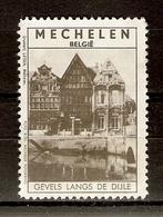 Belgique - Mechelen - Gevels Langs De Dijle - Malines - Erinnophilie - Erinnophilie