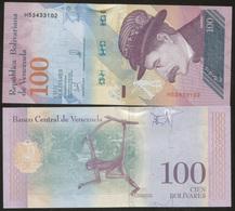 Venezuela 100 Bolivares 2018 Pick New UNC - Venezuela