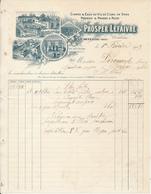LA CARNEILLE, Orne - Prosper Lefaivre, Cidres & Eaux De Vie De Cidre, 1909 - France