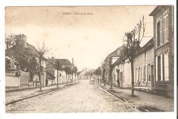 CPA 10 PINEY - Rue De La Gare ( Rue Du Général De Gaulle) - Autres Communes