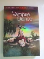 VAMPIRE DIARIES (LOVE SUCKS) INTEGRALE COFFRET DVD 5 DISQUES SAISON 1  -  ATTENTION MANQUE DISQUE 1 - TV Shows & Series