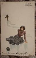 CPA - Kirchner - Fleurs D'hiver - Art Nouveau - 1900-1949