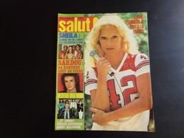 "Revue "" Salut "" N° 73, 1978, Joe Dassin, Daniel Balavoine, Johnny... - People"