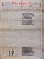 Journal Le Matin (4 Sept 1920) La République A 50 Ans - Atrocités Commises En Pologne - GB Et Irlande - Autres