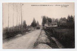 - CPA VERNOIL-LE-FOURRIER (49) - L'Arrivée De Vernantes - Photo L. V. - - France