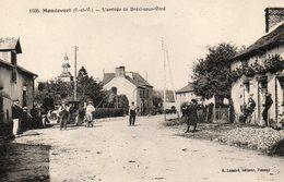 Mondevert -   L' Arrivée  De  Bréal  Sous  Vitré. - Autres Communes