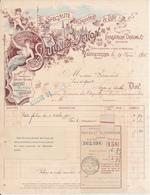 VALENCIENNES, Nord - Spécialité D'Etiquettes De Luxe,  Seulin & Dehon, 1912 - France