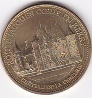 Médaille Souvenir Ou Touristique > Route Jacques Cœur En Berry  > Dia. 34 Mm - Monnaie De Paris