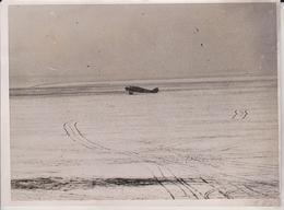 CAPTAIN HINCHCLIFFE BEGINS ATLANTIC FLIGHT BRITISH AIRMAN CRANWELL STISON 20*15CM Fonds Victor FORBIN 1864-1947 - Aviación