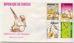 Senegal Set On FDC - Music