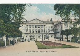 CPA - Belgique - Brussels - Bruxelles - Palais De La Nation - Monuments, édifices