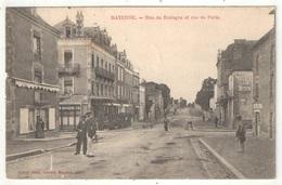 53 - MAYENNE - Rue De Bretagne Et Rue De Paris - Poirier - 1904 - Mayenne