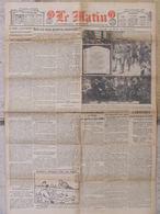 Journal Le Matin (6 Sept 1920) Troupes Lithuaniennes Pologne - Politique Anglaise En Irlande - Autres
