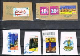 Lot Privatpost Dresden, 6 Briefausschnitte PostModern - [7] République Fédérale
