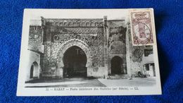 Rabat Porte Intérieure Des Oudayas Morocco - Rabat