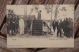 CPA - Congo - Exécution D'un Nègre à Boma - Congo Belge - Autres