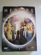 HEROES COFFRET DVD 4 DISQUES SAISON 2 - ATTENTION MANQUE DISQUE 4 - Séries Et Programmes TV