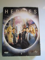 HEROES COFFRET DVD 4 DISQUES SAISON 2 - ATTENTION MANQUE DISQUE 4 - TV Shows & Series
