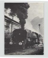 LOCOMOTIVE 141 R 1244 A GRENOBLE - Trains