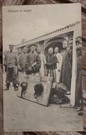 CPA - Prisoners In Cangue - Chine