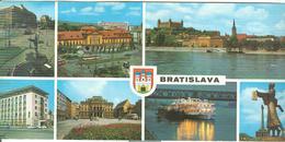 BRATISLAVA - COLORI- VEDUTINE 7 - MAXI  22 X 10,5 - Slovacchia