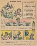 Publicité Huile Lesieur - Simone Rêve... - Illustrée Par Germaine BOURET, 1932 - Pubblicitari