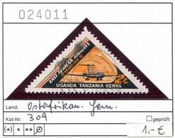 Tansania - Tanzania - Kenia - Kenya - Uganda - Ostafrikanische Gemeinschaft - Michel 309 - Oo Oblit. Used Gebruikt - - Tansania (1964-...)