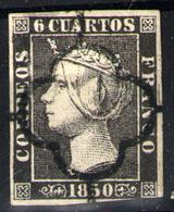 España Nº 1. Año 1850 - 1850-68 Kingdom: Isabella II