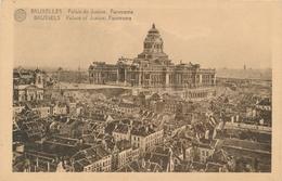 CPA - Belgique - Brussels - Bruxelles - Palais De Justice - Panorama - Multi-vues, Vues Panoramiques