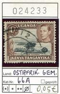 Tanganyika - Kenia - Kenya - Uganda - Ostafrikanische Gemeinschaft - Michel 66 A - Oo Oblit. Used Gebruikt - - Kenya, Uganda & Tanganyika